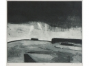 'Sky', etching, 25 x 21cm
