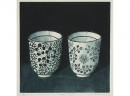 'Two Cups', aquatint, 18 x 18cm
