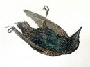 'Dead Bird', watercolour, NFS