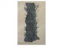'Trunk', woodcut, 40.5 x 21cm
